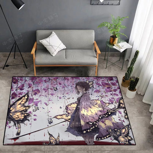 Demon Slayer Kimetsu no Yaiba #30 Graphic Carpet Living Room Bedroom Sofa Mat Door Mat Kitchen Bathroom Mat for Home Decoration