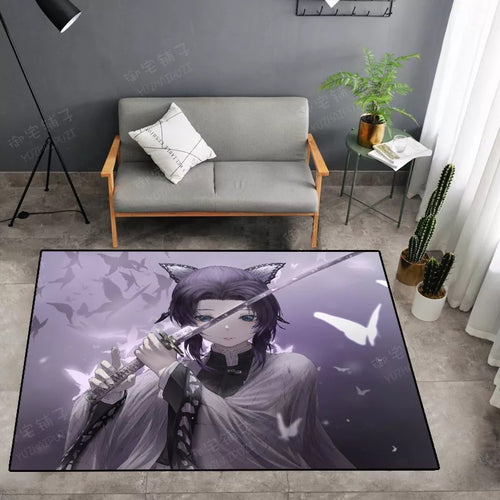 Demon Slayer Kimetsu no Yaiba #33 Graphic Carpet Living Room Bedroom Sofa Mat Door Mat Kitchen Bathroom Mat for Home Decoration