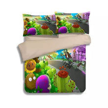 Load image into Gallery viewer, Plants vs Zombies#3 Duvet Cover Quilt Cover Pillowcase Bedding Set Bed Linen