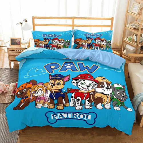 PAW Patrol Marshall #13 Duvet Cover Quilt Cover Pillowcase Bedding Set Bed Linen Home Decor