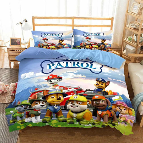 PAW Patrol Marshall #14 Duvet Cover Quilt Cover Pillowcase Bedding Set Bed Linen Home Decor