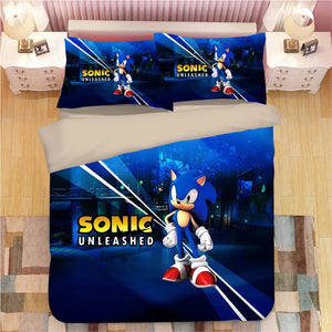 Sonic The Hedgehog #7 Duvet Cover Quilt Cover Pillowcase Bedding Set Bed Linen
