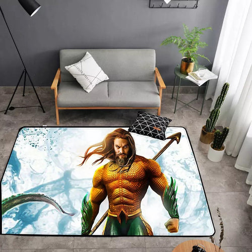 Aquaman Arthur Curry #21 Graphic Carpet Living Room Bedroom Sofa Mat Door Mat Kitchen Bathroom Mat for Home Decoration