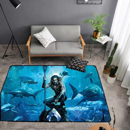 Aquaman Arthur Curry #22 Graphic Carpet Living Room Bedroom Sofa Mat Door Mat Kitchen Bathroom Mat for Home Decoration