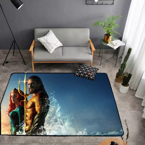 Aquaman Arthur Curry #23 Graphic Carpet Living Room Bedroom Sofa Mat Door Mat Kitchen Bathroom Mat for Home Decoration