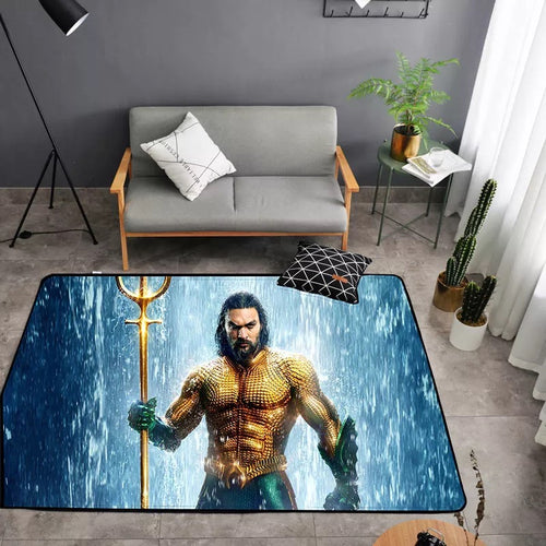 Aquaman Arthur Curry #24 Graphic Carpet Living Room Bedroom Sofa Mat Door Mat Kitchen Bathroom Mat for Home Decoration