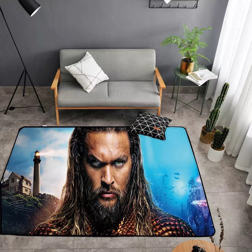 Aquaman Arthur Curry #25 Graphic Carpet Living Room Bedroom Sofa Mat Door Mat Kitchen Bathroom Mat for Home Decoration