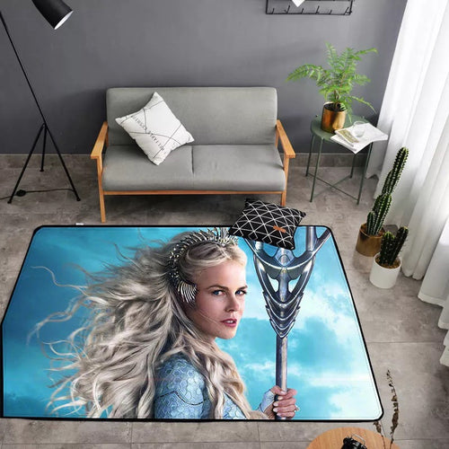 Aquaman Queen Atlanna #26 Graphic Carpet Living Room Bedroom Sofa Mat Door Mat Kitchen Bathroom Mat for Home Decoration