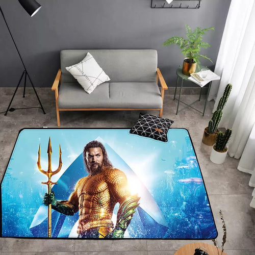 Aquaman Arthur Curry #30 Graphic Carpet Living Room Bedroom Sofa Mat Door Mat Kitchen Bathroom Mat for Home Decoration