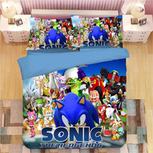 Load image into Gallery viewer, Sonic The Hedgehog #17 Duvet Cover Quilt Cover Pillowcase Bedding Set Bed Linen
