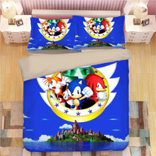 Load image into Gallery viewer, Sonic The Hedgehog #19 Duvet Cover Quilt Cover Pillowcase Bedding Set Bed Linen