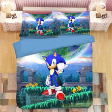Load image into Gallery viewer, Sonic The Hedgehog #22 Duvet Cover Quilt Cover Pillowcase Bedding Set Bed Linen