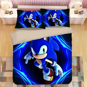 Sonic The Hedgehog #24 Duvet Cover Quilt Cover Pillowcase Bedding Set Bed Linen