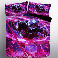 Load image into Gallery viewer, Demon Slayer Kimetsu no Yaiba Kamado Tanjirou #7 Duvet Cover Quilt Cover Pillowcase Bedding Set Bed Linen