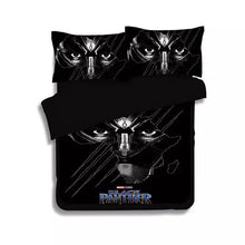 Load image into Gallery viewer, Black Panther #2 Duvet Cover Quilt Cover Pillowcase Bedding Set Bed Linen