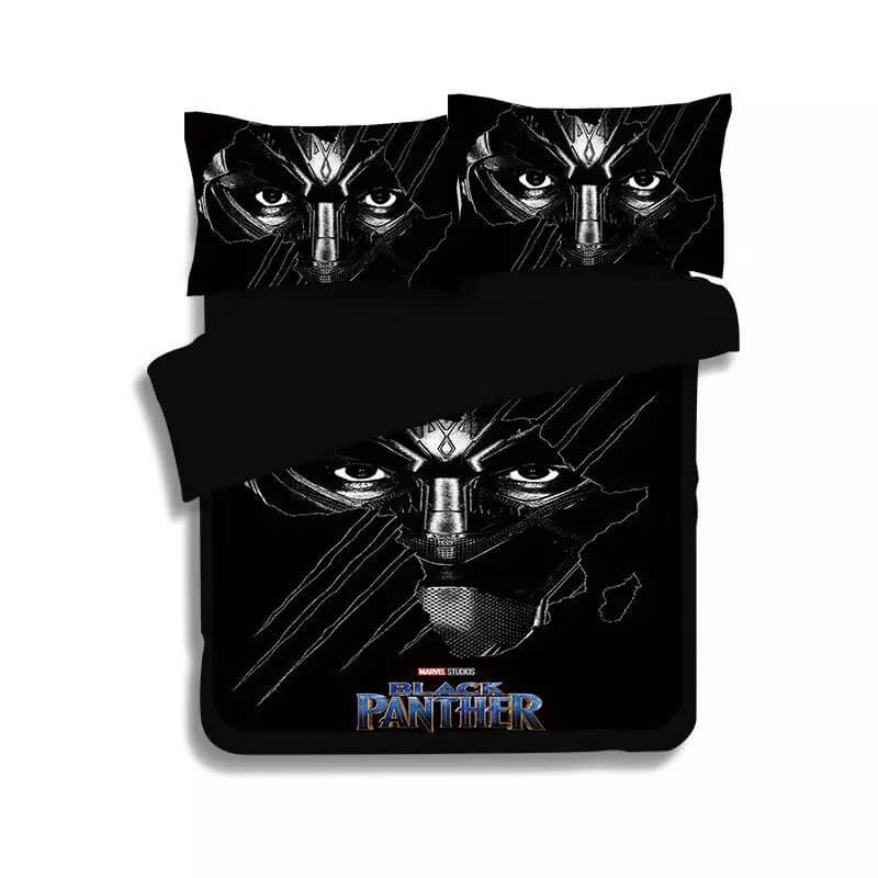 Black Panther #2 Duvet Cover Quilt Cover Pillowcase Bedding Set Bed Linen