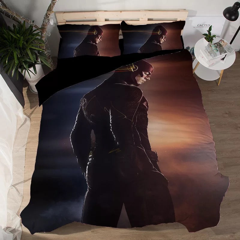The Flash Barry Allen #3 Duvet Cover Quilt Cover Pillowcase Bedding Set Bed Linen Home Decor
