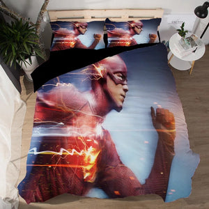 The Flash Barry Allen #7 Duvet Cover Quilt Cover Pillowcase Bedding Set Bed Linen Home Decor