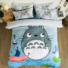 Load image into Gallery viewer, Tonari no Totoro #13 Duvet Cover Quilt Cover Pillowcase Bedding Set Bed Linen Home Decor