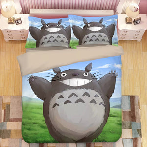 Tonari no Totoro #22 Duvet Cover Quilt Cover Pillowcase Bedding Set Bed Linen Home Decor