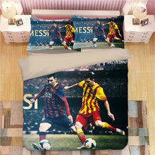 Load image into Gallery viewer, Barcelona Cristiano Ronaldo Messi Football Club #8 Duvet Cover Quilt Cover Pillowcase Bedding Set Bed Linen Home Decor