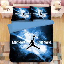 Load image into Gallery viewer, NBA Michael Jordan Basketball #1 Duvet Cover Quilt Cover Pillowcase Bedding Set Bed Linen Home Decor