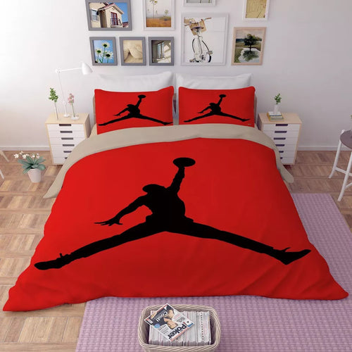 Basketball Michael Jordan Basketball #2 Duvet Cover Quilt Cover Pillowcase Bedding Set Bed Linen Home Decor