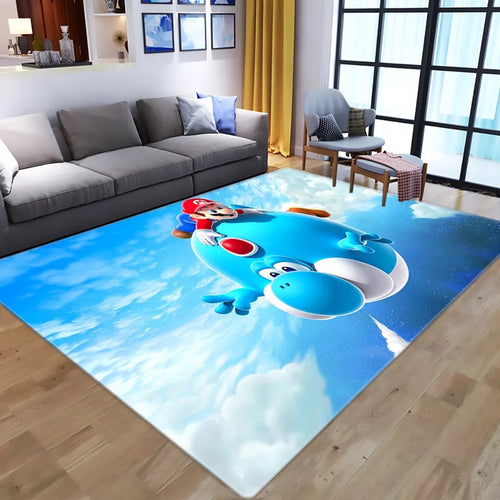 Super Mario Bros #9 Graphic Carpet Living Room Bedroom Sofa Mat Door Mat Kitchen Bathroom Mat for Home Decoration
