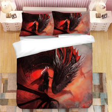 Load image into Gallery viewer, Game of Thrones Daenerys Targaryen #1 Duvet Cover Quilt Cover Pillowcase Bedding Set Bed Linen Home Decor