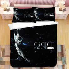 Load image into Gallery viewer, Game of Thrones Night King #2 Duvet Cover Quilt Cover Pillowcase Bedding Set Bed Linen Home Decor