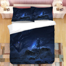 Load image into Gallery viewer, Game of Thrones Night King #3 Duvet Cover Quilt Cover Pillowcase Bedding Set Bed Linen Home Decor
