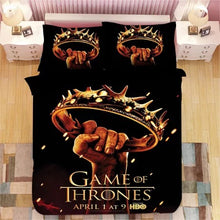 Load image into Gallery viewer, Game of Thrones #7 Duvet Cover Quilt Cover Pillowcase Bedding Set Bed Linen Home Decor