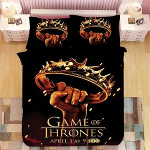 Game of Thrones #7 Duvet Cover Quilt Cover Pillowcase Bedding Set Bed Linen Home Decor