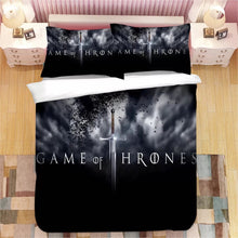 Load image into Gallery viewer, Game of Thrones #20 Duvet Cover Quilt Cover Pillowcase Bedding Set Bed Linen Home Decor