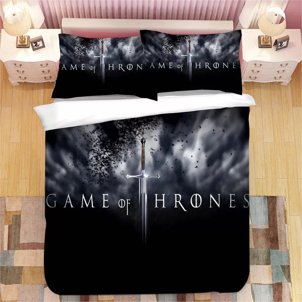 Game of Thrones #20 Duvet Cover Quilt Cover Pillowcase Bedding Set Bed Linen Home Decor