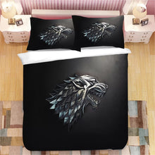 Load image into Gallery viewer, Game of Thrones #22 Duvet Cover Quilt Cover Pillowcase Bedding Set Bed Linen Home Decor