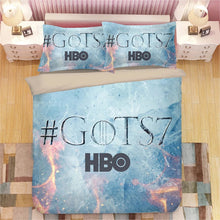 Load image into Gallery viewer, Game of Thrones #23 Duvet Cover Quilt Cover Pillowcase Bedding Set Bed Linen Home Decor