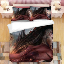 Load image into Gallery viewer, Game of Thrones #24 Duvet Cover Quilt Cover Pillowcase Bedding Set Bed Linen Home Decor