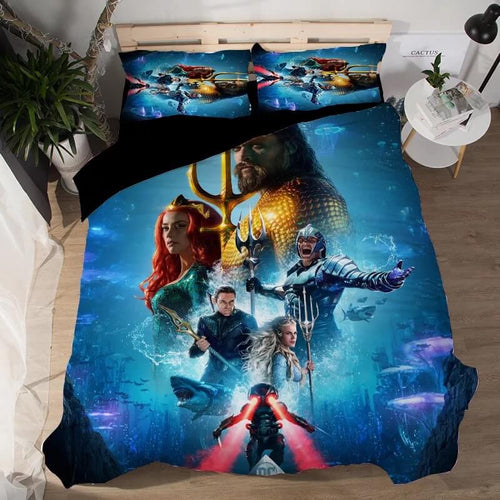 Aquaman #6 Duvet Cover Quilt Cover Pillowcase Bedding Set Bed Linen