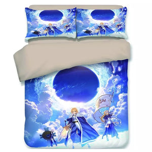Fate Stay Night FGO Saber Astolfo #10 Duvet Cover Quilt Cover Pillowcase Bedding Set Bed Linen Home Decor
