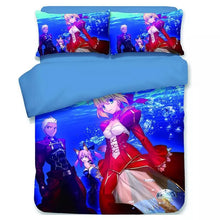 Load image into Gallery viewer, Fate Stay Night FGO Saber Astolfo #15 Duvet Cover Quilt Cover Pillowcase Bedding Set Bed Linen Home Decor