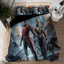 Load image into Gallery viewer, Ant-Man and the Wasp Antman #6 Duvet Cover Quilt Cover Pillowcase Bedding Set Bed Linen Home Decor