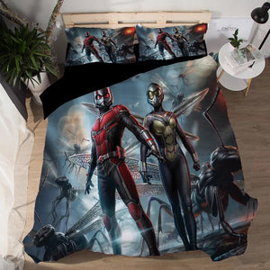 Ant-Man and the Wasp Antman #6 Duvet Cover Quilt Cover Pillowcase Bedding Set Bed Linen Home Decor