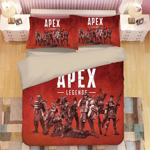 Apex Legends #2 Duvet Cover Quilt Cover Pillowcase Bedding Set Bed Linen