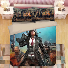 Load image into Gallery viewer, Game PUBG Playerunknown's Battlegrounds #1 Duvet Cover Quilt Cover Pillowcase Bedding Set Bed Linen Home Decor