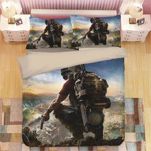 Load image into Gallery viewer, Game PUBG Playerunknown's Battlegrounds #9 Duvet Cover Quilt Cover Pillowcase Bedding Set Bed Linen Home Decor