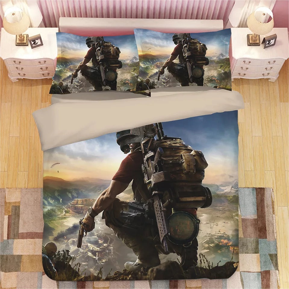 Game PUBG Playerunknown's Battlegrounds #9 Duvet Cover Quilt Cover Pillowcase Bedding Set Bed Linen Home Decor