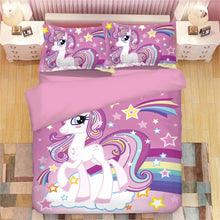 Load image into Gallery viewer, My Little Pony #2 Duvet Cover Quilt Cover Pillowcase Bedding Set Bed Linen Home Decor