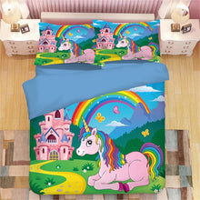 Load image into Gallery viewer, My Little Pony #3 Duvet Cover Quilt Cover Pillowcase Bedding Set Bed Linen Home Decor
