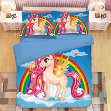 Load image into Gallery viewer, My Little Pony #4 Duvet Cover Quilt Cover Pillowcase Bedding Set Bed Linen Home Decor